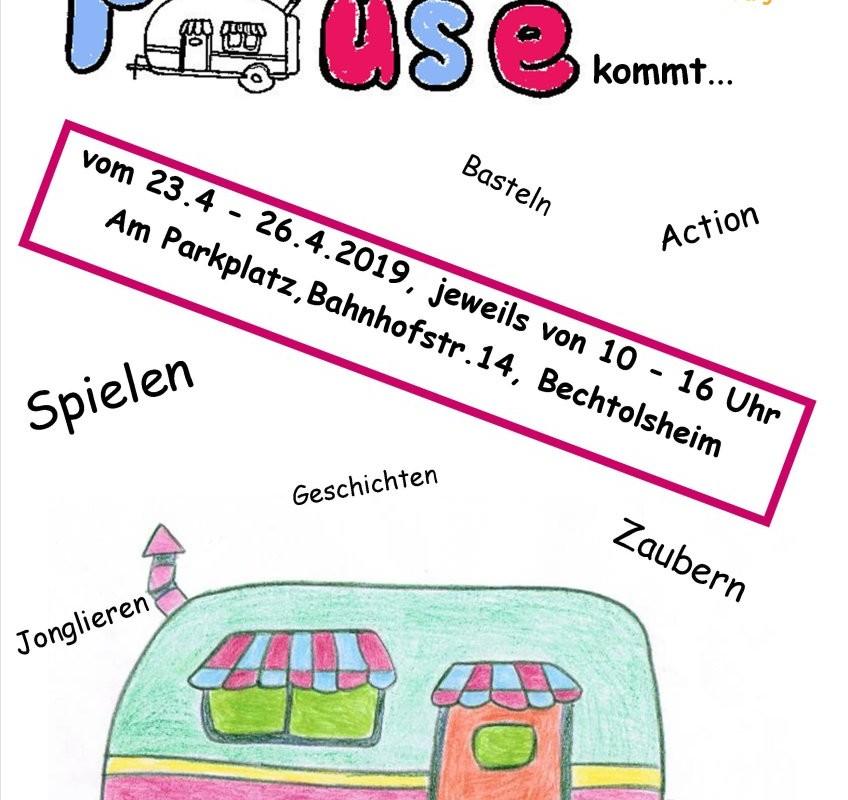 Flyer kleine Pause Bechtolsheim